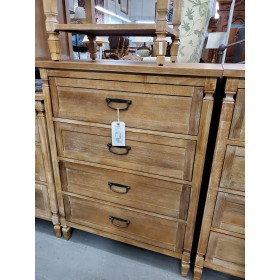 Weathered Four Drawer Chest