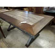 Two Tone Table With Studs