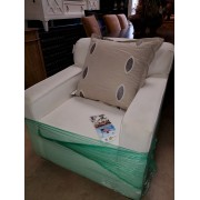 White Klaussner Chair