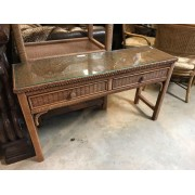 Henry Link - Wicker Sofa Table