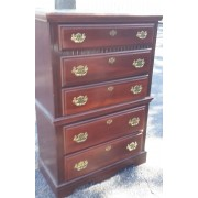 Five Drawer Wood Chest