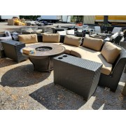 Curved Patio Sectional