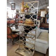 Uttermost / Gold Metal Shelf Unit