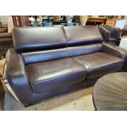 Brown Leather Sofa / Loveseat & Chair