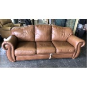 Tan Leather Sleeper