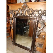 Brown / Gold Framed Mirror