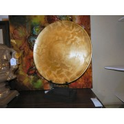 Large Gold Plate