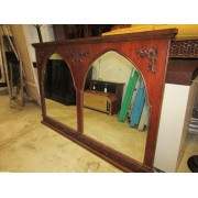 Wood Double Mirror