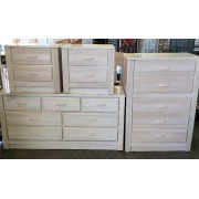 King - Cream Bedroom Set