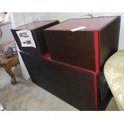 Platform Bed With Dresser / Two Night Stands