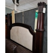 King - Wood/Padded Canopy Bed