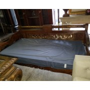Carved Wood / Day Bed