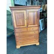 Stanley - Wood Armoire Two Door / Four Drawer