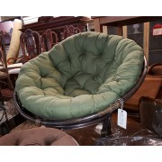 Dark Papasan Chair