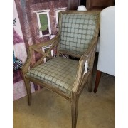 Distressed / Blueish Arm Chair