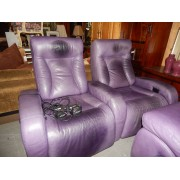 Purple Power Recliner