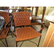 Four Weaved Dining Chairs