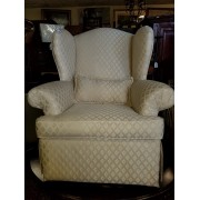 White Wingback Chair