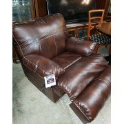 Simmons - Brown Swivel / Recliner Chair