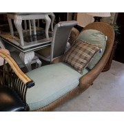 Wicker Chaise / Lounger