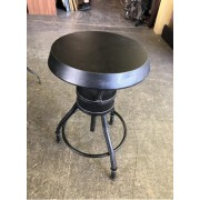 Black Low Bar Stool