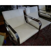 Cowhide / Leather / Metal Chair