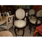 Three Leopard Bar Stool