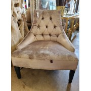 Silver Studded Chair