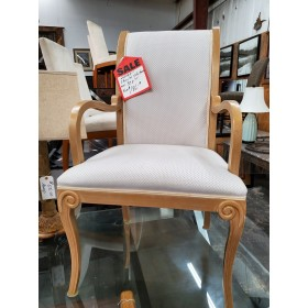 Set of 6 Dining Chairs / 2 Arm - 4 Side