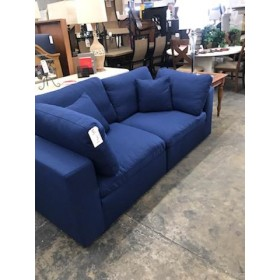 Robesonia Two Piece Blue Love Seat