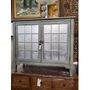 Ahumada - Two Door Silver Cabinet