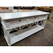 Kailey - White Console 74.8