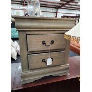 Small Two Drawer End Table