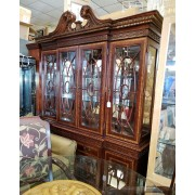 Mahogany/Traditional 2 Piece Hutch