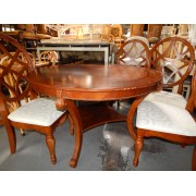 Wood - Round Dining Table