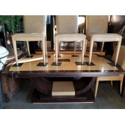 Modern Dining Table / Four Chairs
