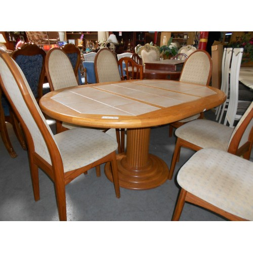 Dining Table Patio Dining Table With Tile Top