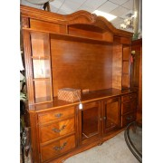 Two Piece Entertainment Center