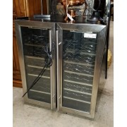 Double Wine Cooler/Cabinet
