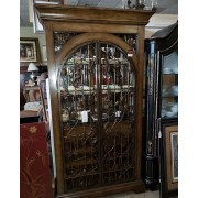 Metal / Wood Bar Curio