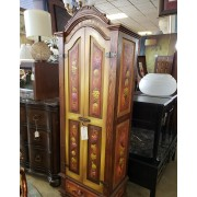 Painted Fruit Wine Cabinet