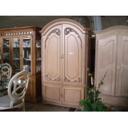 White Washed TV Armoire - (8059-111)