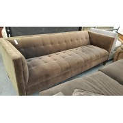 Brown Tufted Sofa