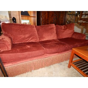 Red - Fringe Sofa