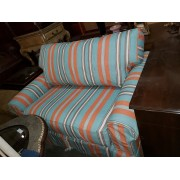 Striped Love seat Sleeper
