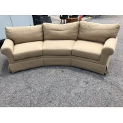 Century - Tan Curved Sofa