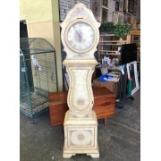 Large Yellow Grandfather Clock