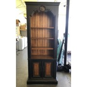 Hooker - Black / Brown Bookcase