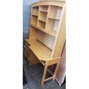 Wood Desk / Hutch & Chair