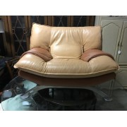 Two Tone Leather Chair